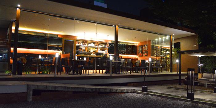 Entrance of Brunello at 15 Soi Rama IX 58 Suanluang Bangkok