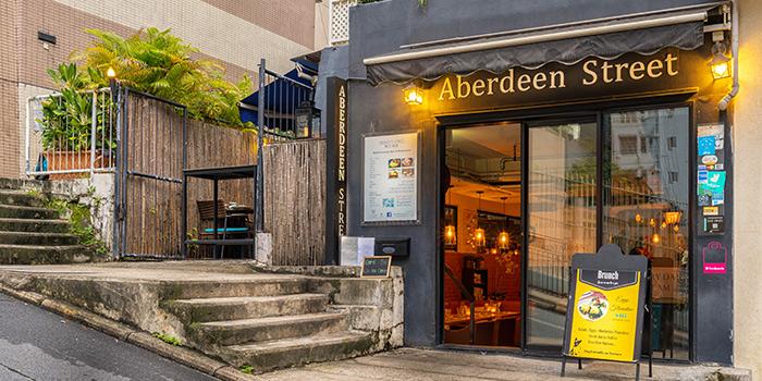 Exterior, Aberdeen Street, Central, Hong Kong