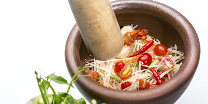 Food from Pad Thai Restaurant in Surin Beach, Phuket, Thailand