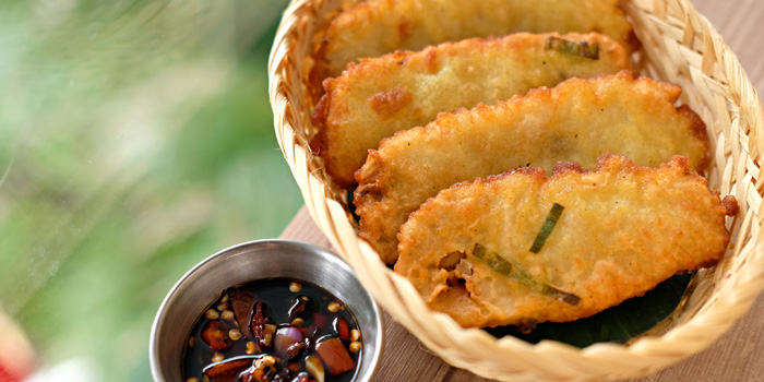Fried Tempeh at X Wagyu, Jakarta
