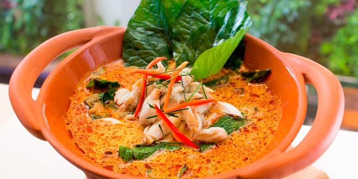 Gaeng Poo Bai Chaploo from Basil at Sheraton Grande Hotel, Bangkok