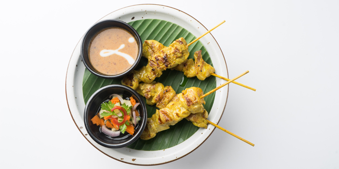 Grill Chicken Satay from Patara fine Thai cuisine at 375 Thonglor Soi19 Sukhumvit Soi55 Khlong Tan Nuea Bangkok
