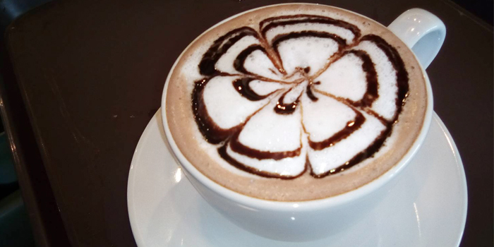 Hot Chocolate from Hill Myna Cafe in Cherngtalay, Phuket, Thailand