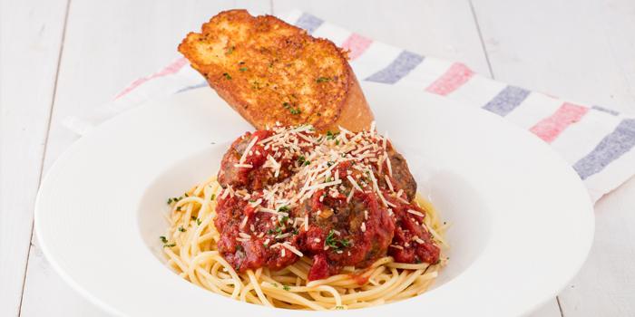 House Made Meatballs with Spaghetti, Dan Ryan