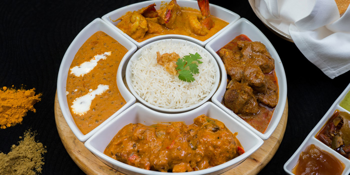 Indian Section from Orchid Cafe at Sheraton Grande Hotel, Bangkok