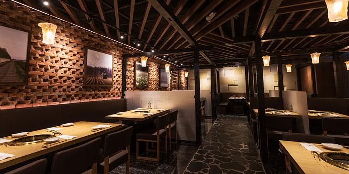 Interior, Yakiniku KAGURA, Tsim Sha Tsui, Hong Kong