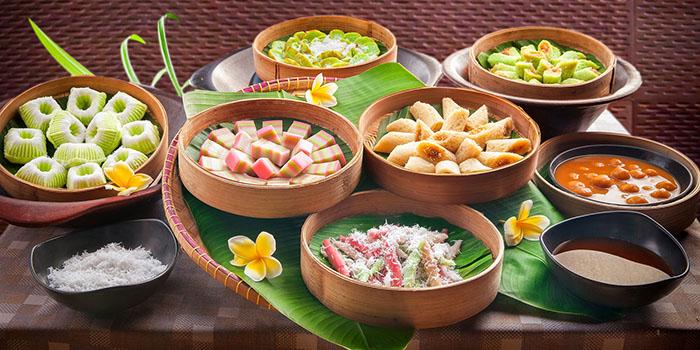 Jajanan Pasar at Banyubiru Restaurant, Nusa Dua