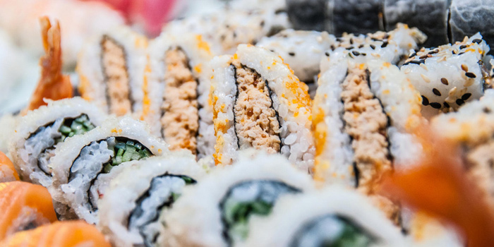 Japanese Rolls from Seasonal Tastes Restaurant at The Westin Grande Sukhumvit, Bangkok