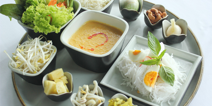 Kanom Jin from SALA Restaurant & Bar in Maikhao, Phuket, Thailand