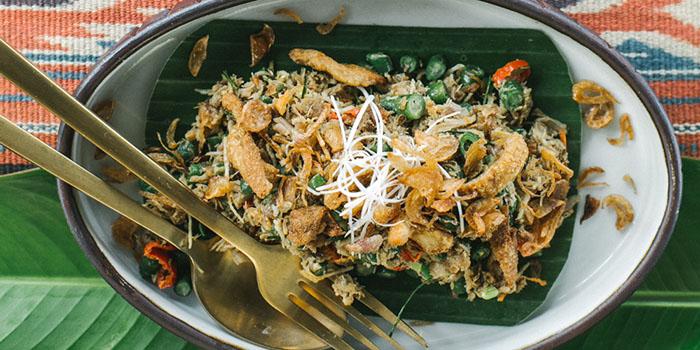 Dish from Kaum Bali, Seminyak, Bali