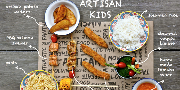 Kid Set from Project Artisan in Cherngtalay, Phuket, Thailand.