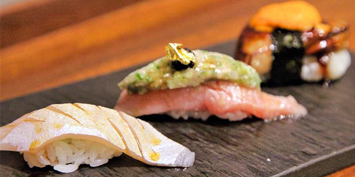 Nigiri Sushi from Koji Sushi Bar (Pickering Street) at Nankin Row in Chinatown, Singapore
