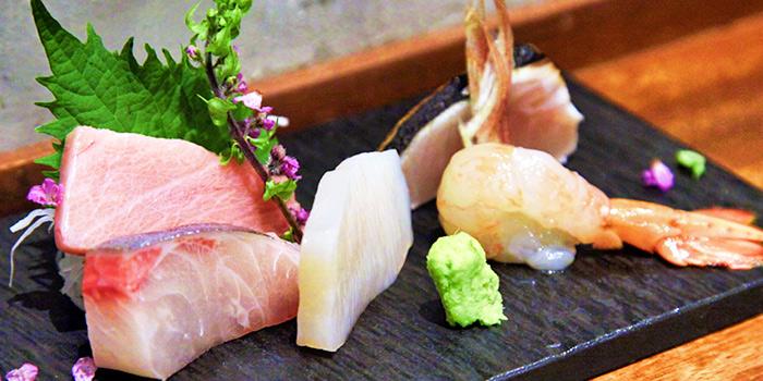 Sashimi Moriwase from Koji Sushi Bar (Pickering Street) at Nankin Row in Chinatown, Singapore
