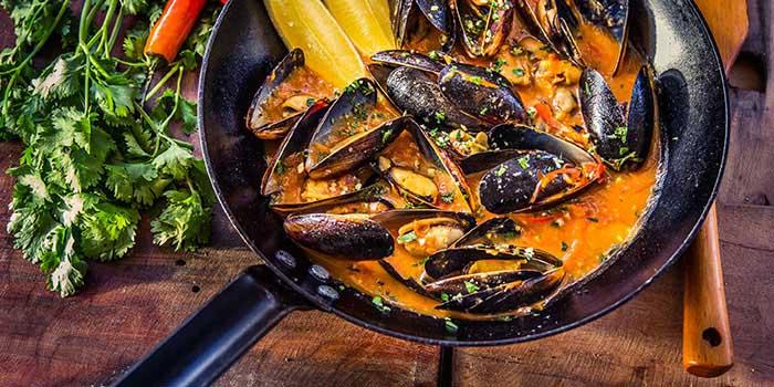 Food Menu at La Brisa, Bali