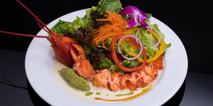 Lobster Taco from Koi Restaurant and Lounge at 39th floor, Sathorn Square Building 98 North Sathorn Road Silom, Bangrak Bangkok