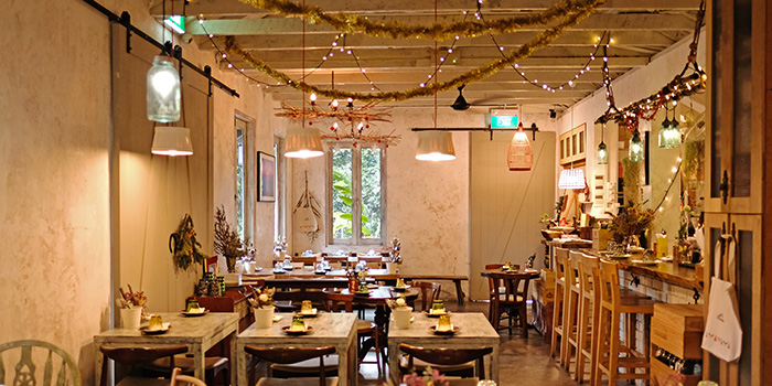 Dining Room of Morsels in Dempsey, Singapore