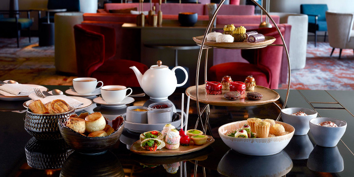 Afternoon Tea from MO BAR at Mandarin Oriental Singapore in City Hall, Singapore