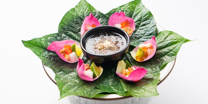 Miang Kum Lotus from Patara fine Thai cuisine at 375 Thonglor Soi19 Sukhumvit Soi55 Khlong Tan Nuea Bangkok