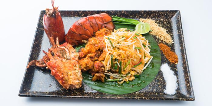 Pad Thai from Patara fine Thai cuisine at 375 Thonglor Soi19 Sukhumvit Soi55 Khlong Tan Nuea Bangkok