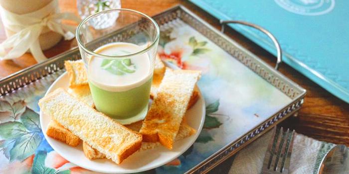 Pandan Custard Bread from Sansumran at 185/3 Soi Sukhumvit 31(Sawasdee)  Klong Tan Nuea, Wattana Bangkok
