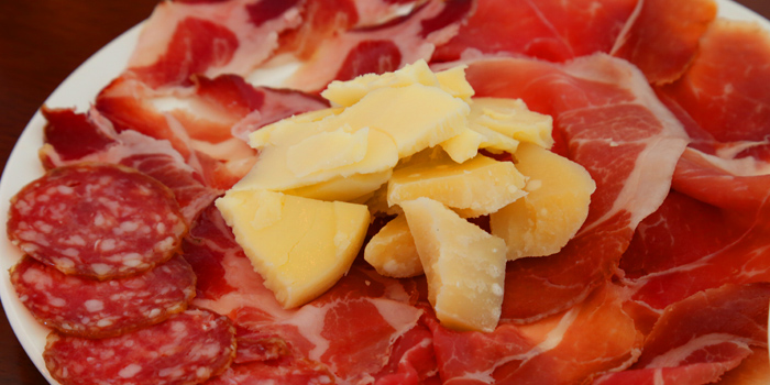 Parma Ham Plate from Peppe Italian Food & Wine at 1954/3 Soi 60 Sukhumvit Rd Bang Chak,Phra Khanong Bangkok