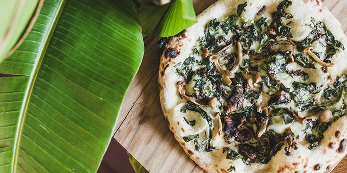 Pizza Menu from Pizza Garden, Seminyak, Bali