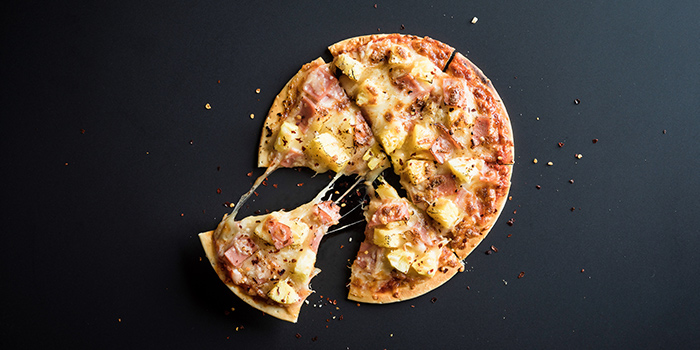 Pizza from Spices Cafe in Concorde Hotel Singapore in Orchard, Singapore