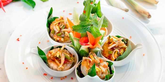 Pla Hoi Shell from Basil at Sheraton Grande Hotel, Bangkok