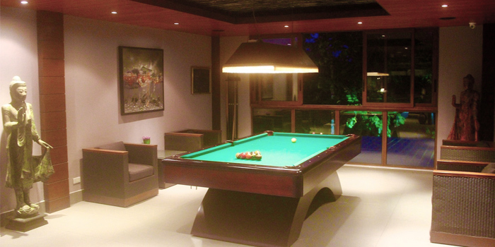 Pool Table area of from Thong Dee-The Kathu Brasserie, Kathu, Phuket, Thailand