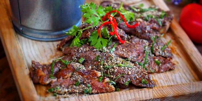 Premium US Beef with Isan Spicy Dip from Quaint Bangkok at 23 Soi Sukhumvit 61 Khlong Tan Nuea, Watthana Bangkok