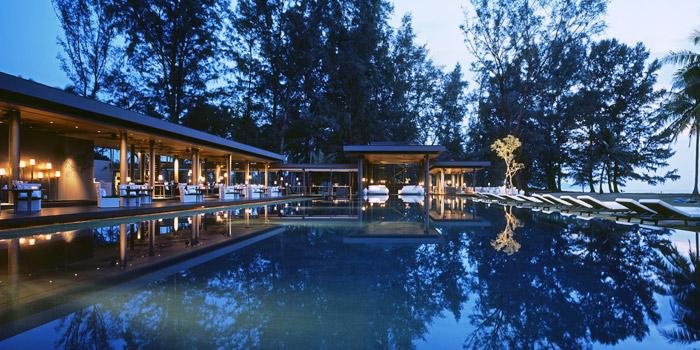Restaurant of  SALA Restaurant & Bar in Maikhao, Phuket, Thailand