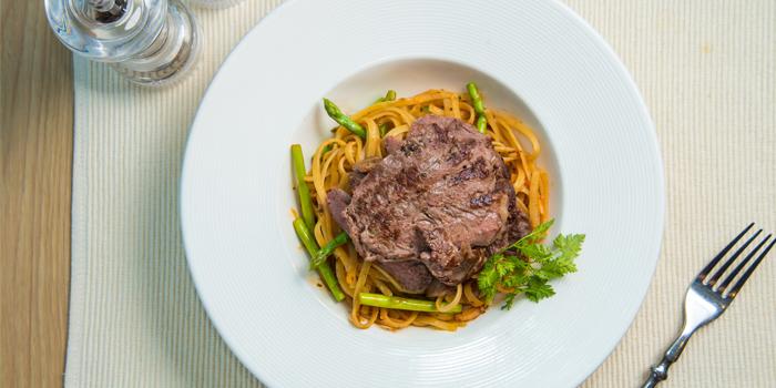 Ribeye Steak Linguine, Odelice, Wan Chai, Hong Kong