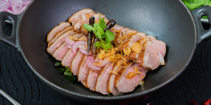 Roasted Duck from Orchid Cafe at Sheraton Grande Hotel, Bangkok