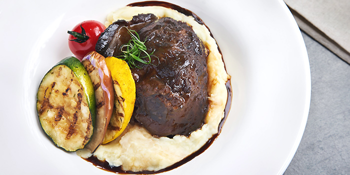 Braised Beef Cheek from Arbora (formerly Spuds & Aprons) at Faber Peak Singapore in Harbourfront, Singapore