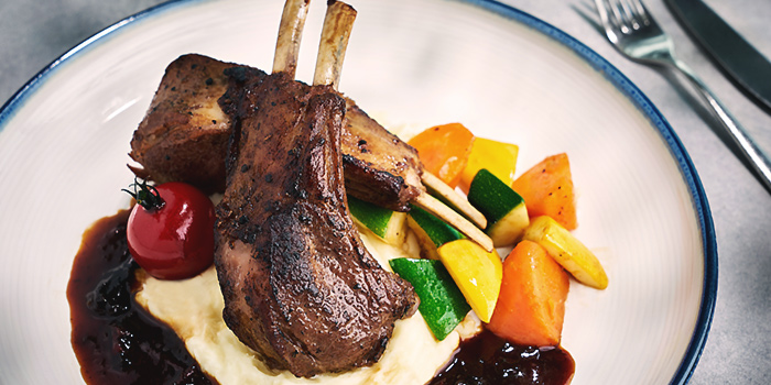 Rack of Lamb from Arbora (formerly Spuds & Aprons) at Faber Peak Singapore in Harbourfront, Singapore
