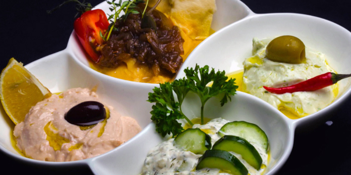 Meze Platter from The Aryaa in Bugis, Singapore