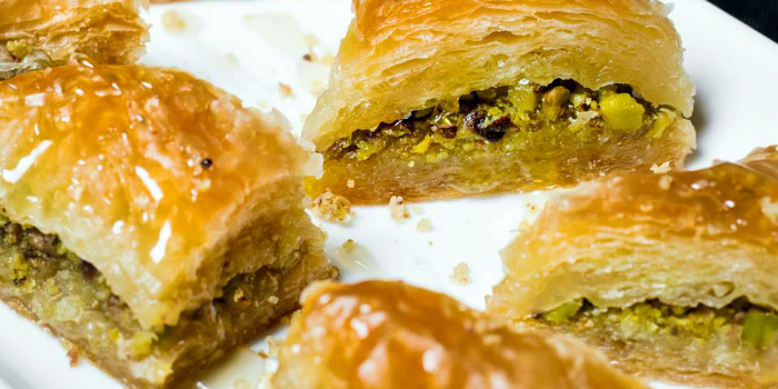 Pistachio Baklava from The Aryaa in Bugis, Singapore