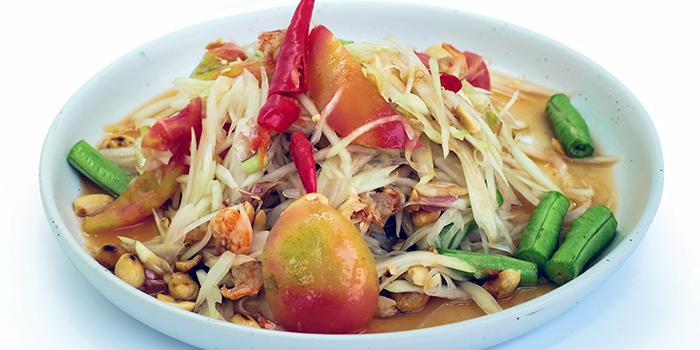 Papaya Salad from Baan Ying Singapore at Royal Square @ Novena in Novena, Singapore