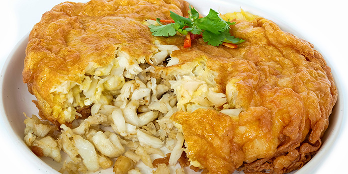 Mega Crab Meat Omelette from Baan Ying Singapore at Royal Square @ Novena in Novena, Singapore