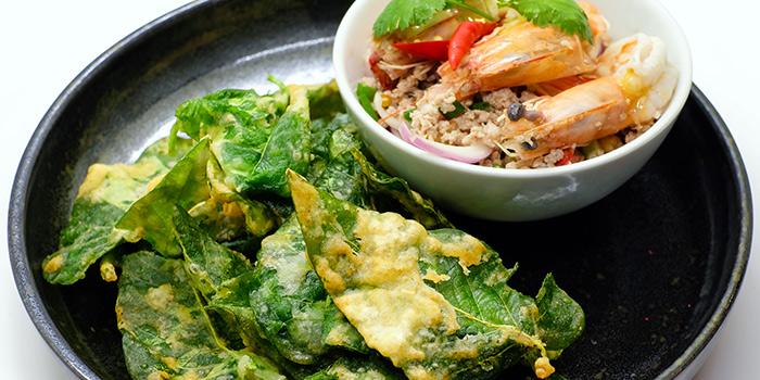 Morning Glory Salad from Baan Ying Singapore at Royal Square @ Novena in Novena, Singapore