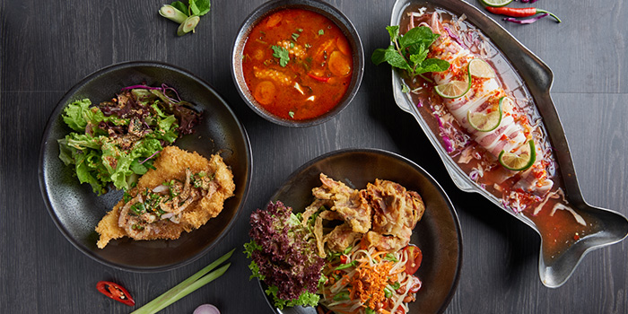 Comfort Street Dishes from Bangkok Jam (Plaza Singapura) in Dhoby Ghaut, Singapore