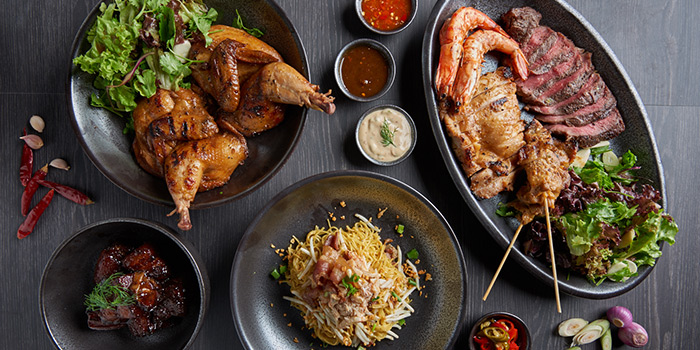 Comfort Street Dishes from Bangkok Jam (Great World City) in River Valley, Singapore