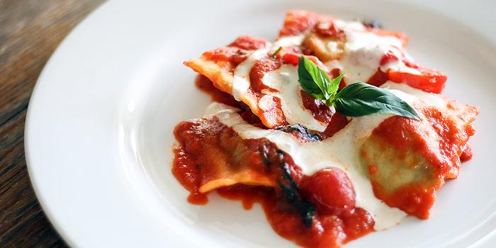 Ravioli Ricotta E Spinanci from Bella Pasta in Robertson Quay, Singapore