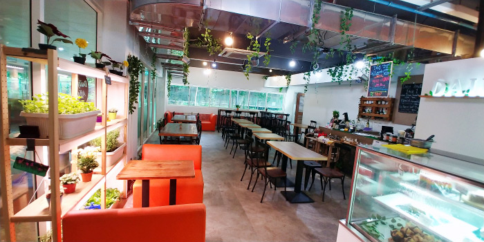 Interior of Daily Affairs at Cairnhill Community Club in Newton, Singapore