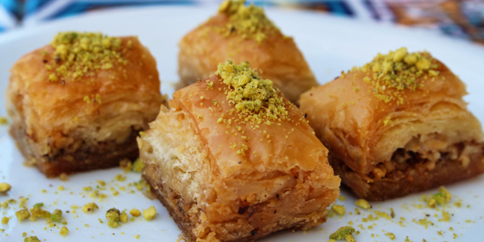Baklava from Derwish Turkish in Bugis, Singapore