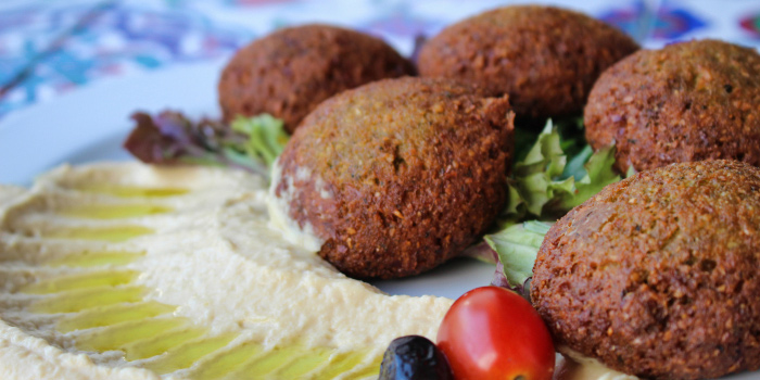 Falafel from Derwish Turkish in Bugis, Singapore