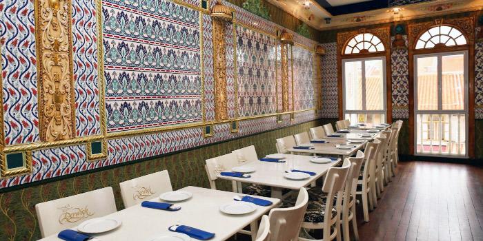 2nd Floor of Derwish Turkish in Bugis, Singapore