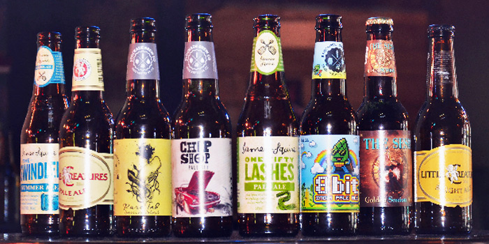 Beer Selection from Finders Keepers Bar at Tanjong Pagar, Singapore