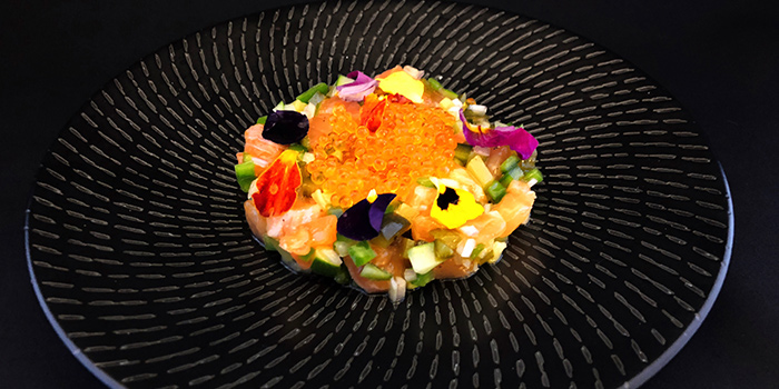 Salmon Tartare from FrapasBar by Saveur (Century Square) in Tampines, Singapore
