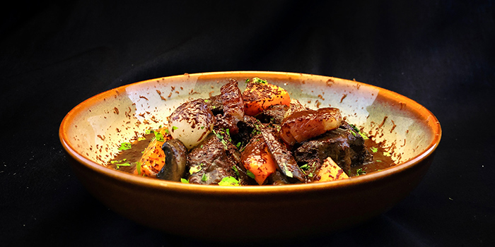 Valrhona Beef Bourguigno from FrapasBar by Saveur (Cathay) in Dhoby Ghaut, Singapore